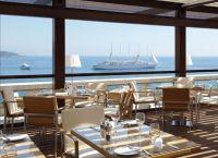 Ресторан du Port - вид из окна