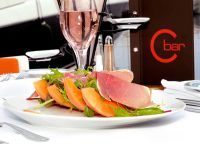 Ресторан Baccarat - блюдо