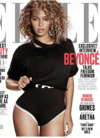 Бейонсе на обложке журнала Elle