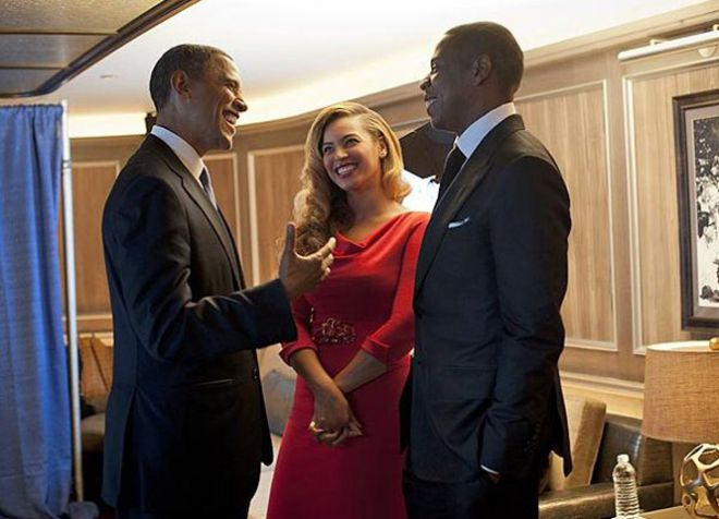 Звездные супруги дружат с семьей экс-президента США