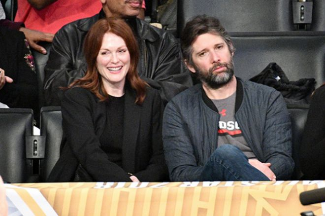 Джулианна Мур с мужем Бартом Фрейндлих