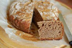 Bezdorozhevoy kruh na kefirju v kruharju