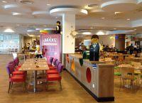 Ресторан  Legoland внутри