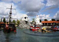 Пиратская зона в парке Леголенд