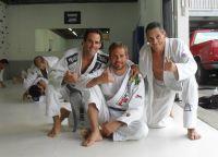 Пол Уокер на тренировке по джиу-джитсу