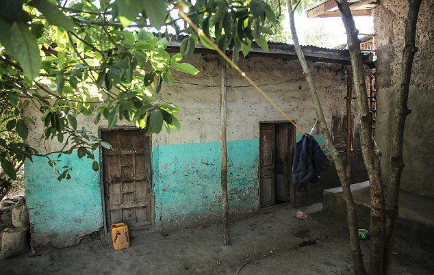 Крошечный дом, где живет Ментеваб Давит Лебисо
