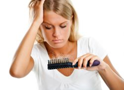 Birch listy na vlasy