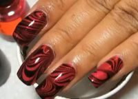 czarny manicure8