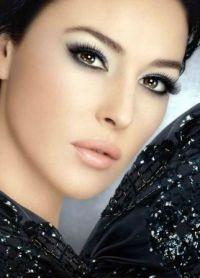 czarno-biały makijaż 1