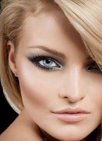 makijaż czarno-biały 2