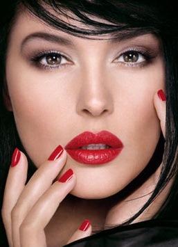 czarno-biały makijaż 5