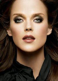 czarno-biały makijaż 6