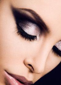 makijaż czarno-biały 9
