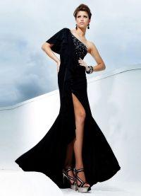 Crne haljine za djevojčice 2013 1