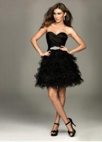 Crne haljine za djevojčice 4 4