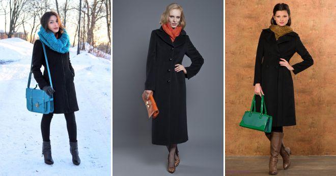 сумка к черному пальто