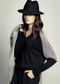 černá klobouk 1