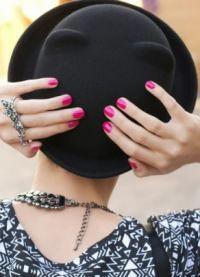 černá klobouk 3