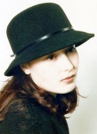 černá klobouk 4