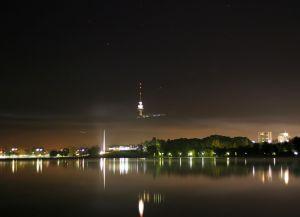 Сказочный вид ночью