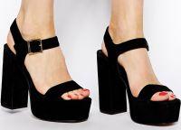 crne sandale s debelim potpeticama1