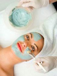 Маски для лица голубая глина