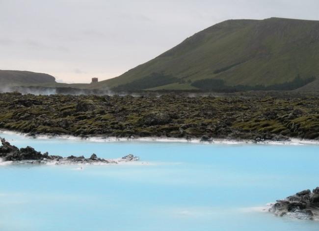 modrá laguna Island9