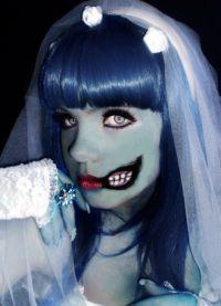 niebieska peruka 15