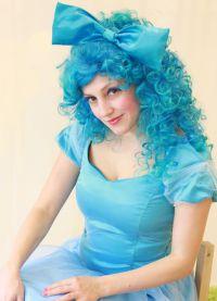 niebieska peruka 8