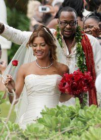 В 2012 года они поженились на Гавайях