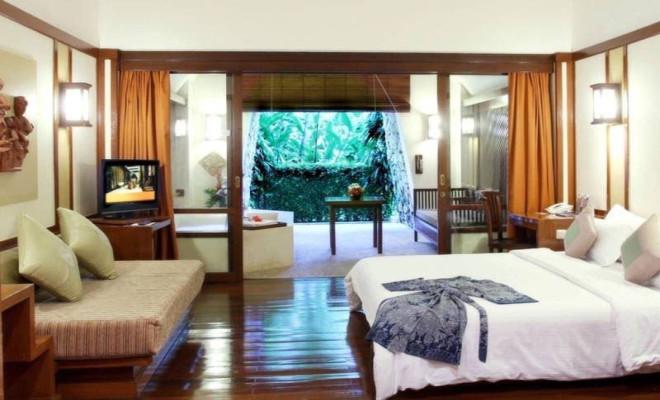 Один из отелей Богора