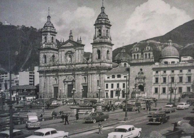 Кафедральный собор Боготы в 50-е годы XX века