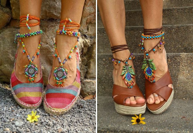обувь бохо