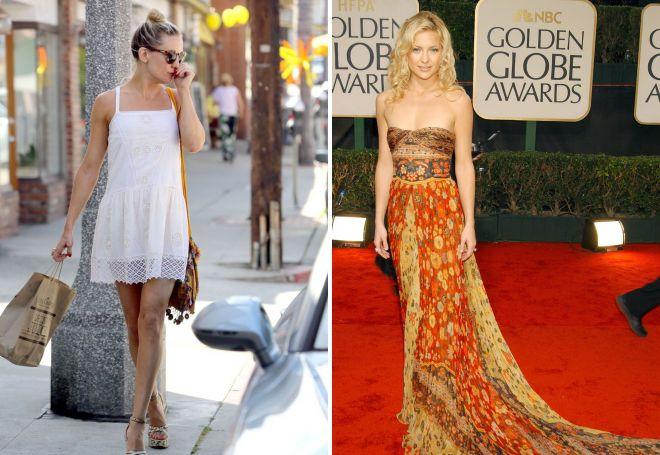 Кейт Хадсон в платье