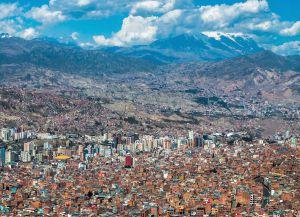 Вид на город Ла-Пас
