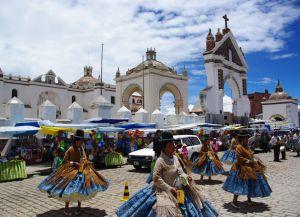 Улицы Копакабаны во время фестиваля