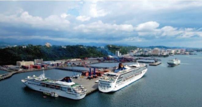 Круизный порт в Кота-Кинабалу