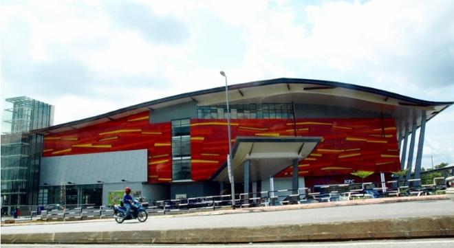 Центральный автовокзал в Кучинге