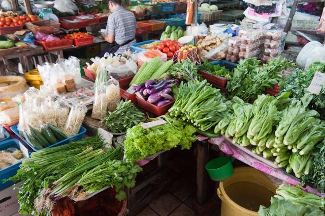 Рынок к Кота-Кинабалу