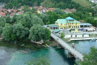Деревянный мост через реку Уна