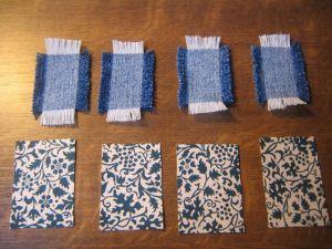 како направити наруквицу од тканине6