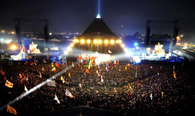 Музыкальный фестиваль Glastonbury