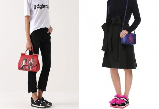 женские кроссовки Dolce Gabbana