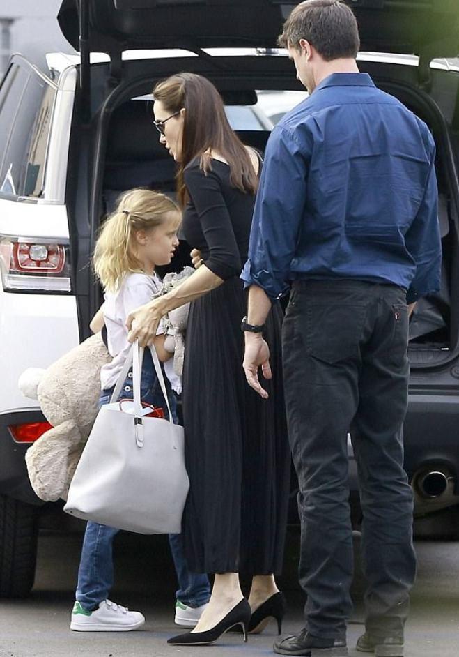 Энджи с дочерью Вивьен