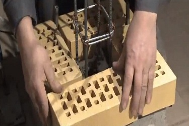 Izgradnja ograde od cigala to radi sami 2