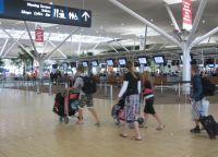 U zračnoj luci Brisbane