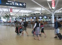 Na letališču Brisbane