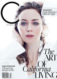 Эмили Блант снялась для модного глянца C Magazine