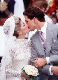 Свадьба кронприцессы Греции Мари-Шанталь и кронпринца Павла в 1995 году