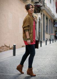 кафяви дамски обувки 14
